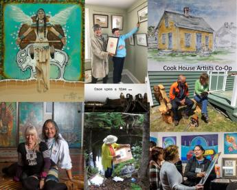 Sherbrooke Village is host to a wide variety art & culture offerings this season.