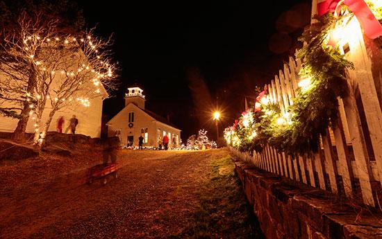 sherbrooke village old fashioned christmas